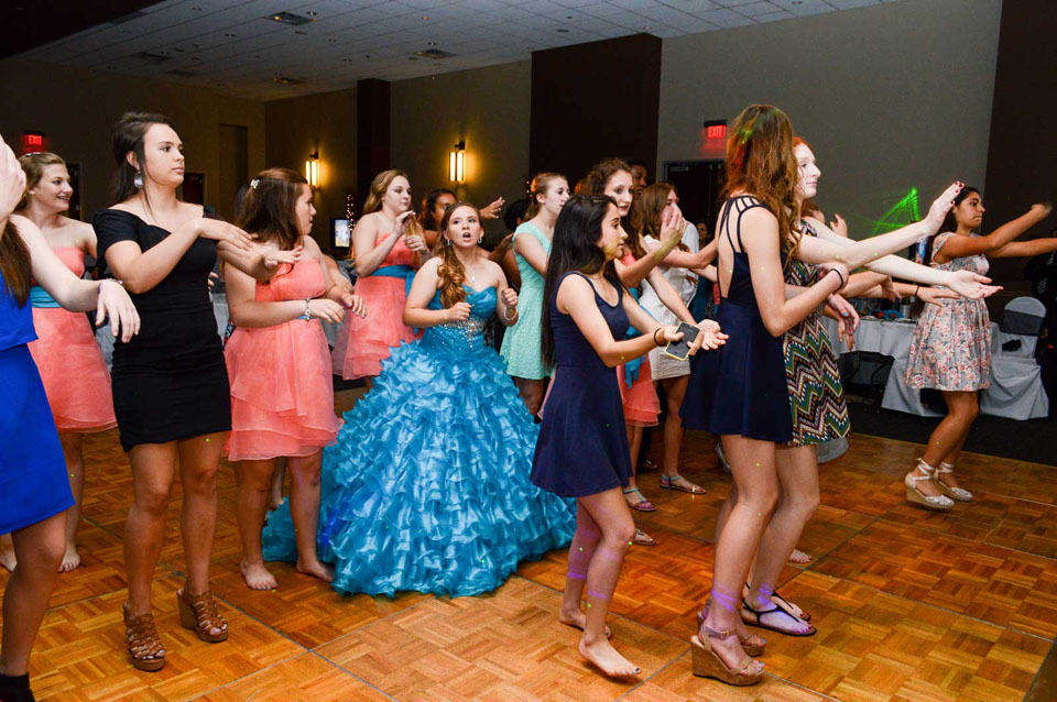 Guests Dancing, Special Celebration at the Red Oak Ballroom in Austin