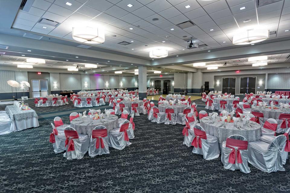 Social Celebration setup in our San Antonio Red Oak Ballroom-B.