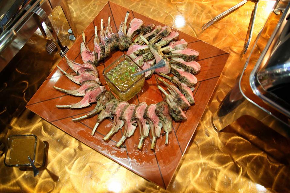 Red Oak Ballroom catering of a Roast Lamb Tray