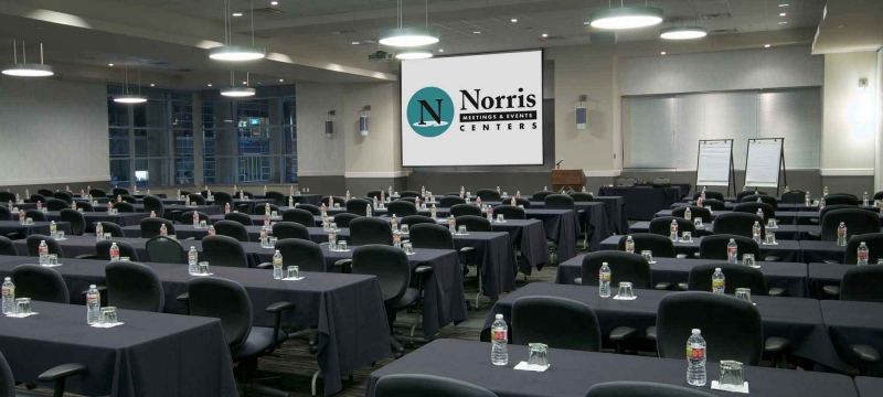 Norris Conference Centers Meeting Room Setup And Waiting For Participants