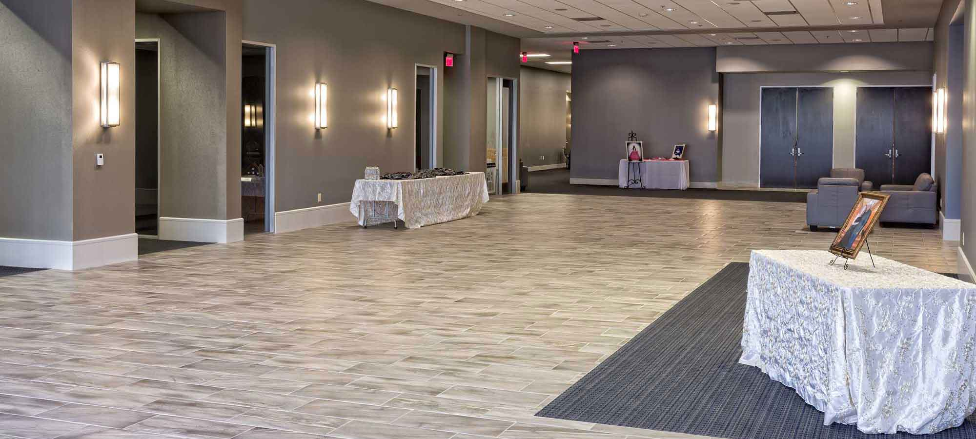 Norris Centers San Antonio elegant gray foyer