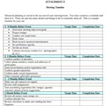 Download meeting planning timelines document from Norris Centers