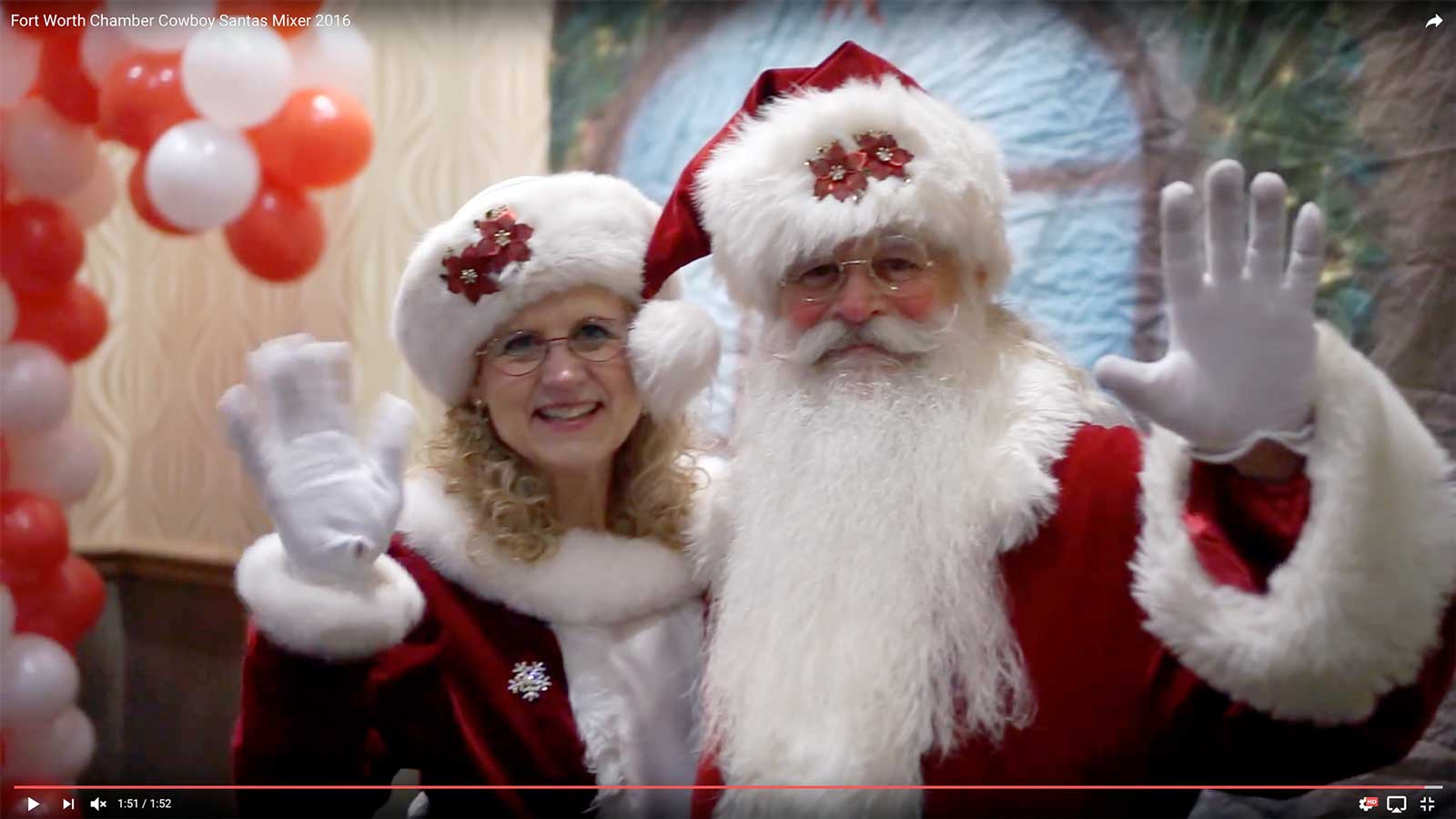 Fort Worth Chamber Cowboy Santa Fundraiser at Norris Centers, Fort Worth, Sundance Square