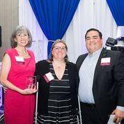 Linda Hampton, CEO Norris Centers receives award at 3rd Annual MPI banquet
