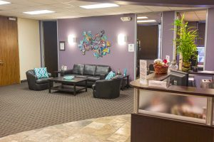 Norris Centers Houston/Westchase lobby area