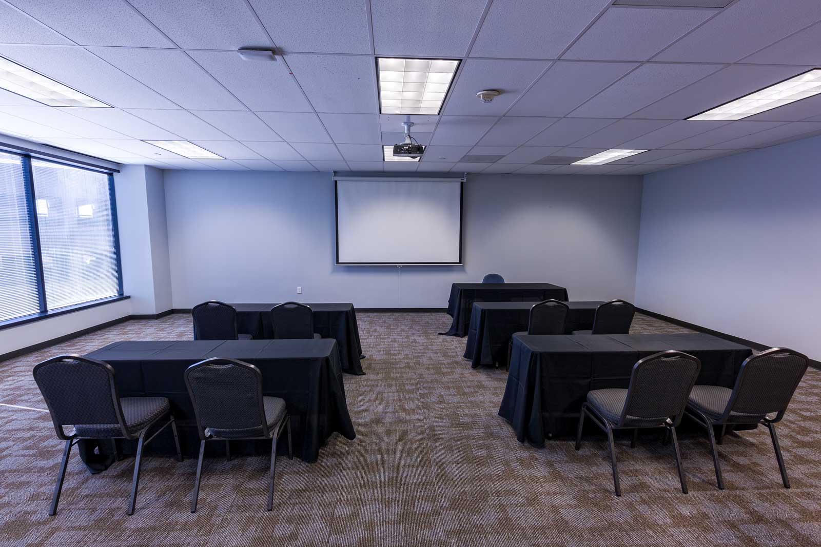 Norris Centers Dallas, Cypress Room, Set Classroom Style
