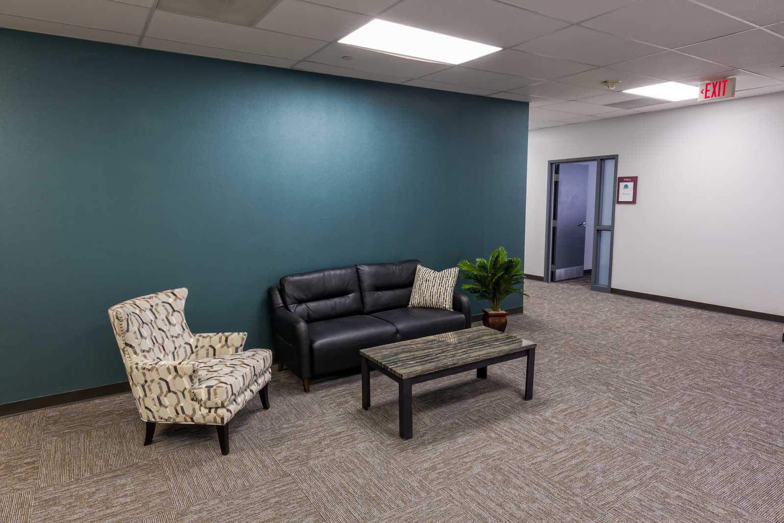 Norris Centers Dallas, Hallway Common Area