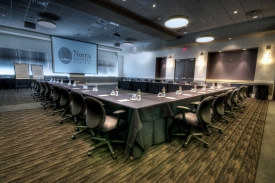 Meeting set in Executive Classroom Style at Norris Centers Houston CityCentre