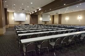 Large classroom setup at Norris Centers Austin