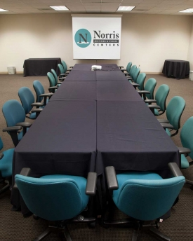 Norris Centers Westchase Boardroom set